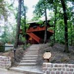 Blockhütte auf dem Wartenberg
