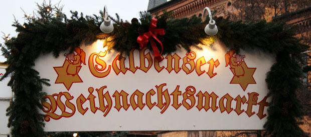 Weihnachtsmarkt Eingang