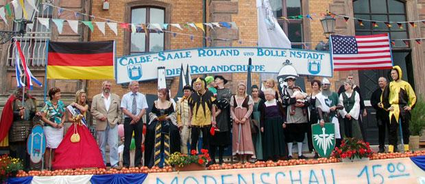 Rolandfest - Festbühne 2008
